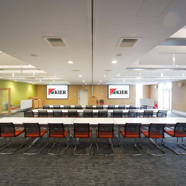 Acoustic solutions for conference room