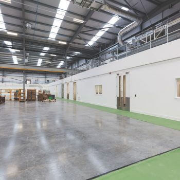 Industrial dry lining
