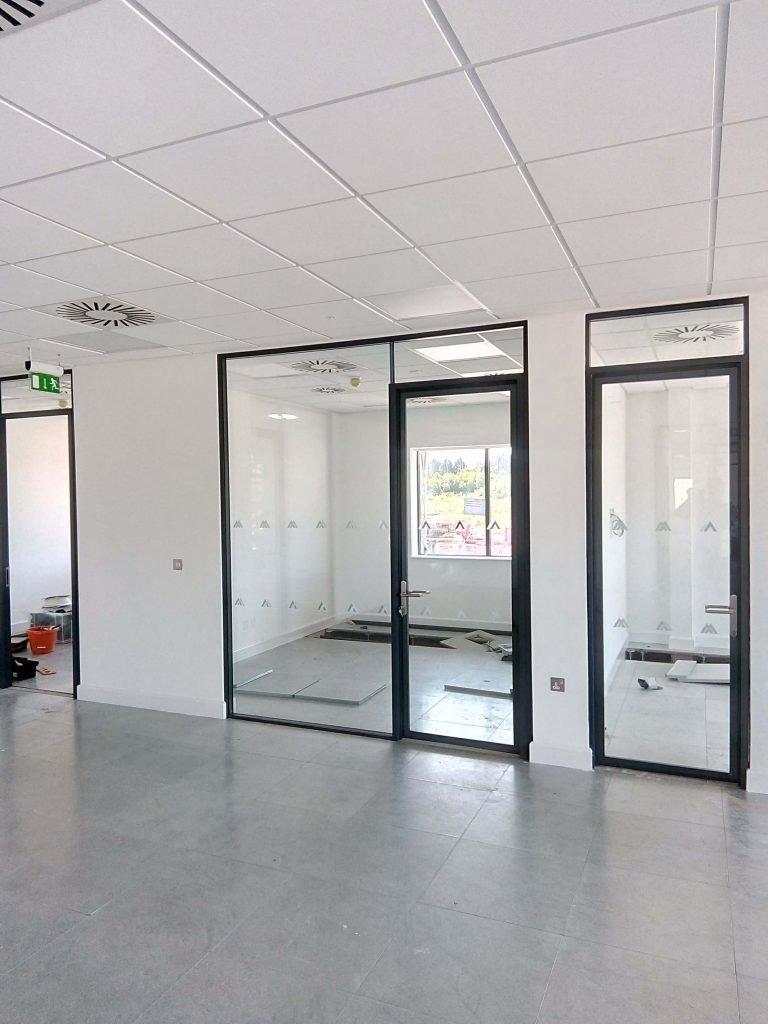 modern glass office