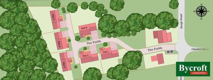 Residential development in Gorleston