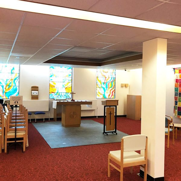 James Paget Hospital chapel